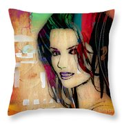 Shania Twain Collection Throw Pillow