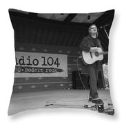 Shawn Mullins Throw Pillow