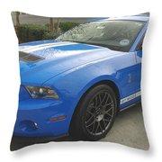 Shelby Cobra Gt 500 Throw Pillow