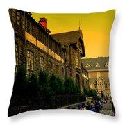 Shimla Town Hall Throw Pillow
