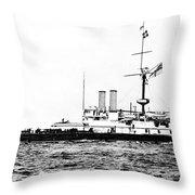 Ships Hms 'victoria Throw Pillow