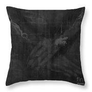 Shroud Of Turin- Jesus' Hands Throw Pillow