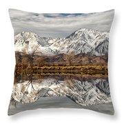 Sierra Reflections Throw Pillow