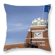 Signs Of Seattle  Throw Pillow