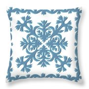 Silver Sword Throw Pillow