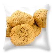 Simple Homemade Cookies Throw Pillow