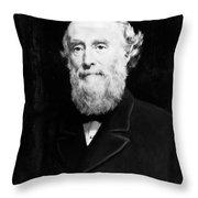 Sir George Williams (1821-1905) Throw Pillow