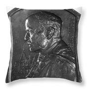 Sir Ronald Ross (1857-1932) Throw Pillow