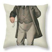Sir William Jenner Throw Pillow