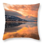 Skaha Serenity Throw Pillow