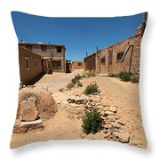 Sky City Acoma Pueblo Throw Pillow