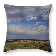 Sky City Throw Pillow