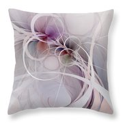 Sleight Of Hand Throw Pillow by NirvanaBlues