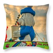 Slush Puppie Throw Pillow