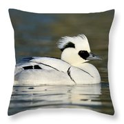 Smew Throw Pillow