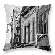 Soho Lounge Throw Pillow