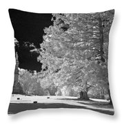 Soldiers National Cemetery - Gettysburg Throw Pillow