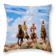 Sons Of The Desert Throw Pillow