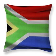 South African Flag  Throw Pillow