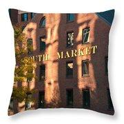 South Market Throw Pillow