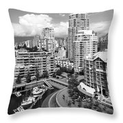 South Vancouver Bc Canada Throw Pillow