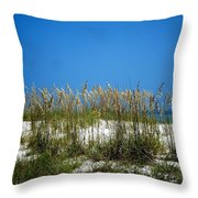 Sowing Wild Oats Throw Pillow