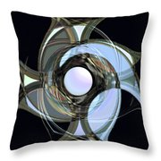 Spinners 7 Throw Pillow