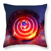 Spinning Top Throw Pillow