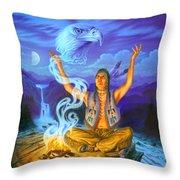 Spirit Of The Eagle Throw Pillow