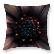 Spring Darkness Throw Pillow