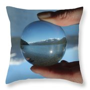 Spring In The Kootenays Throw Pillow