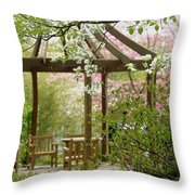 Spring Seating Throw Pillow