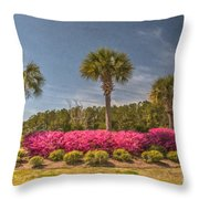 Spring Time In Charleston Throw Pillow