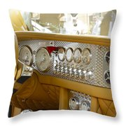 Spyker Throw Pillow