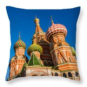 St. Basil's Cathedral - Square Throw Pillow