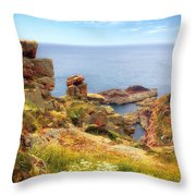 St Brelade - Jersey Throw Pillow