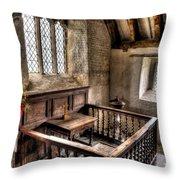 St Celynnin Church Throw Pillow