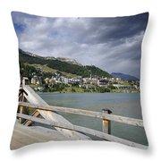 St Moritz Throw Pillow