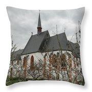 St-nikolaus Hospital  Bernkastel Throw Pillow