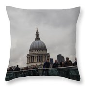 St. Paul's Throw Pillow