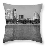 St Petersburg Skyline Throw Pillow