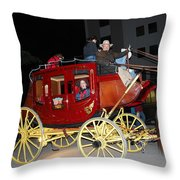 Stagecoach Throw Pillow