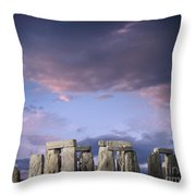 Standing Stones Throw Pillow
