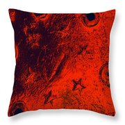 Stars And Gutters Throw Pillow