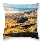 State Highway 190 Throw Pillow