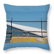 Stay Out Throw Pillow
