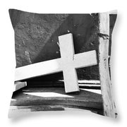 Steps To Faith  Throw Pillow