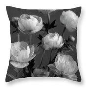 Still Life Of Flowers Throw Pillow
