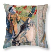 Still Life With Horse's Head Throw Pillow