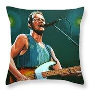 Sting Throw Pillow